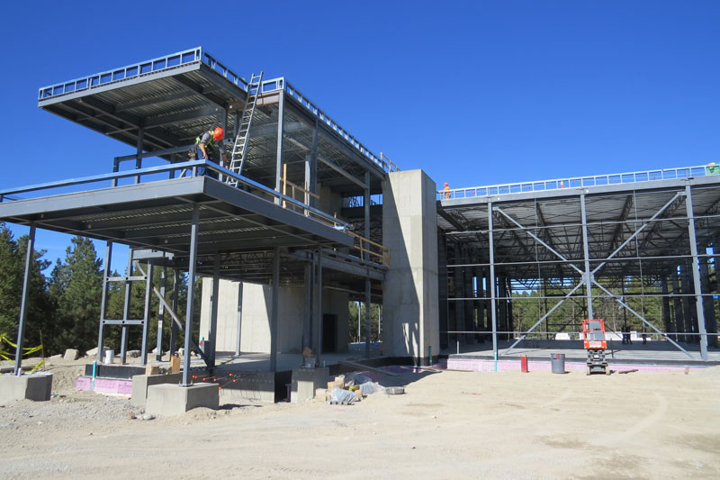 photo for: Trades Facility Update - Building is Taking Shape