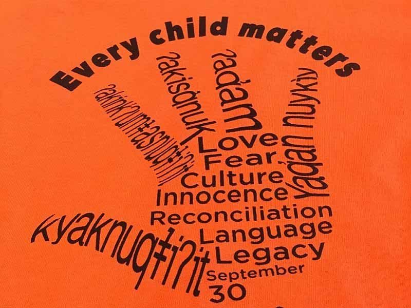 photo for: GUEST BLOG: Every Child Matters - Orange Shirt Day by Karla Vishloff, Edited by Avery Hulbert