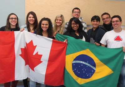 photo - College of the Rockies Strengthens Brazilian Connection