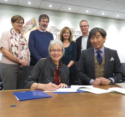 photo - College of the Rockies' Agreements with UVic to Benefit Students
