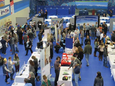 photo - Record Number of Exhibitors at Annual Career and Job Fair