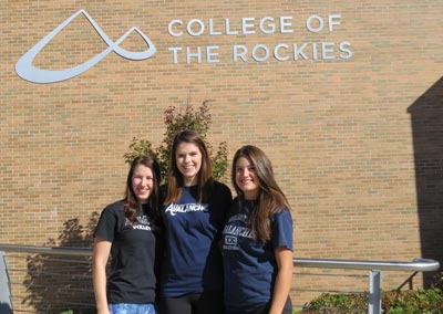 photo - College of the Rockies Volleyball Players Named CCAA National Scholars