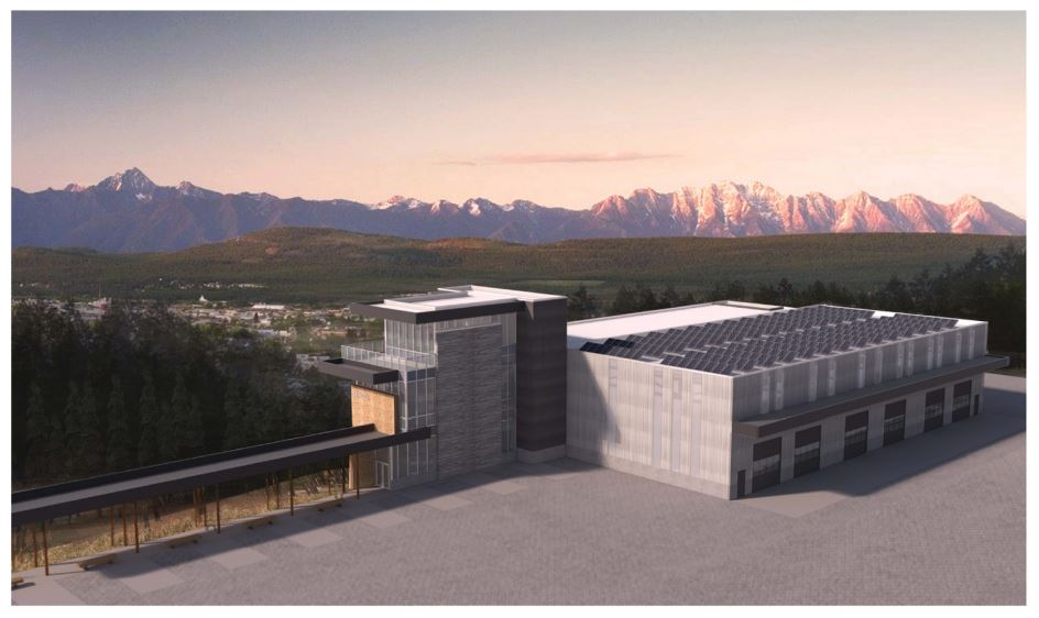 photo - Canada and B.C. invest in new trades facility at College of the Rockies