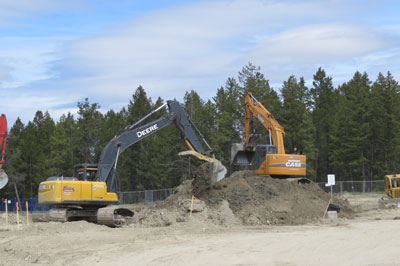 photo - Work Begins for College of the Rockies' Trades Building