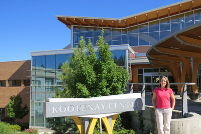 photo - College of the Rockies International Students Benefiting Community