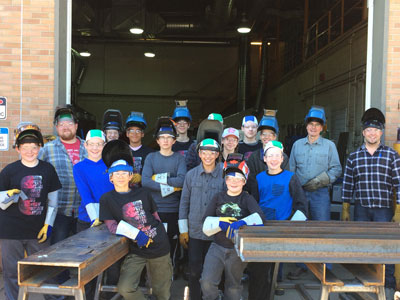 College of the Rockies Hosts Mind Over Metal Camp