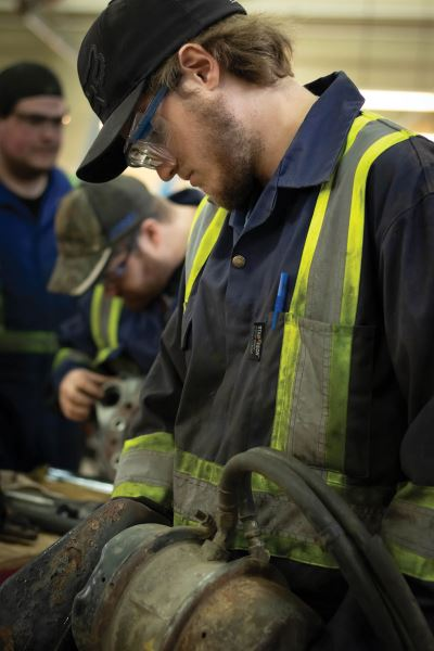 photo - College of the Rockies trades students benefit from Teck donation