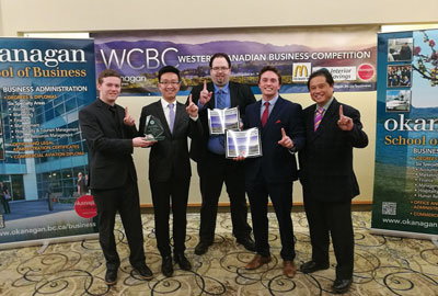 College of the Rockies Business Students Win at Competition