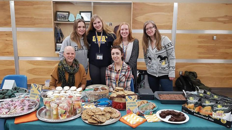 photo - East Kootenay Teacher Education students give back to local schools
