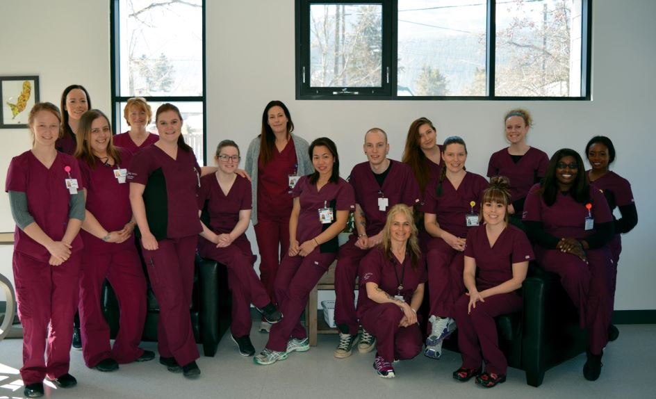 photo - College of the Rockies Health Care Assistant students ready to provide care in Golden region