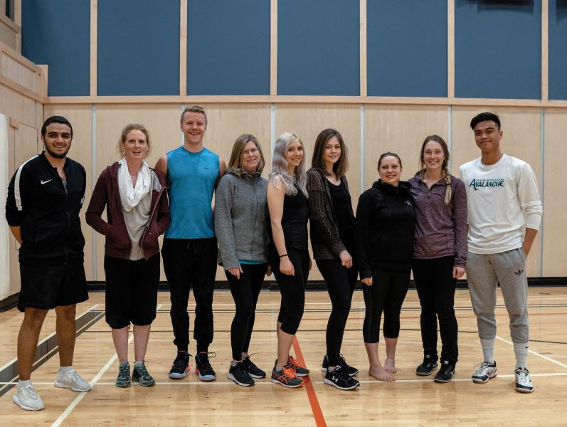 photo - Eight Kinesiology students eligible for CSEP personal training certification