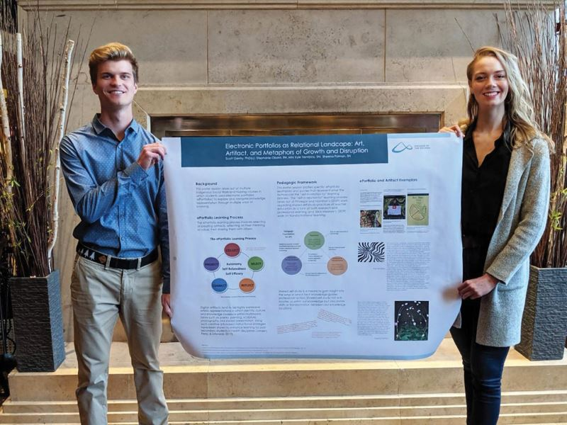 photo - College of the Rockies students, faculty present at national bioethics conference