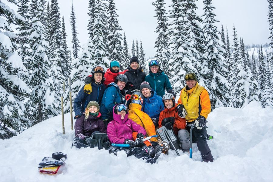 photo - Student-led research helps improve safety protocols in backcountry